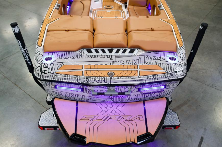 Кастомный SUPRA SL 2020 для Кена Блока!